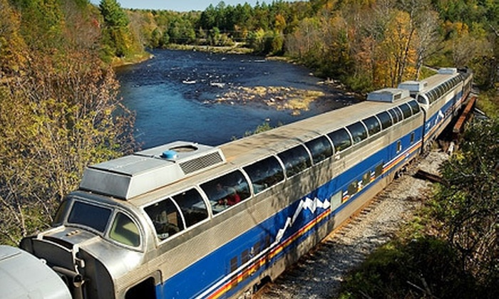 High Iron Travel - Multiple Locations: $24 for Luxury Train Ride To or From Milwaukee with Live Band Performance from High Iron Travel ($49 Value). 12 Departures Available.