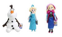GROUPON: Disney's Frozen 17'' Plush Backpacks Disney's Frozen 17'' Plush Backpacks