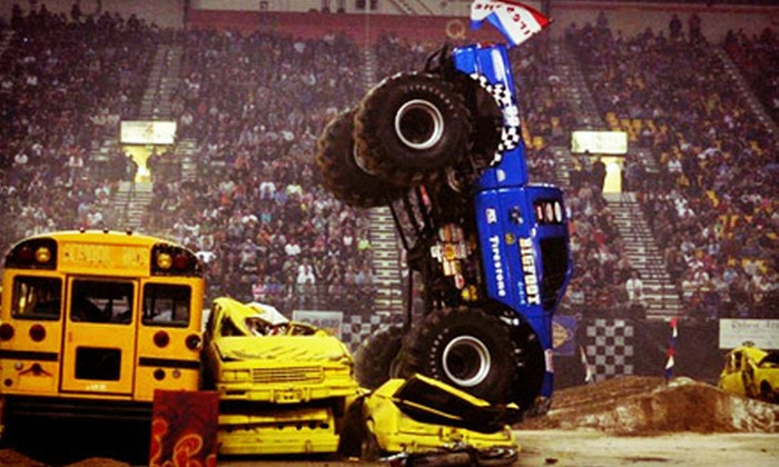 Monster Truck Winter Nationals - Mesquite Arena: $18 to See the Monster Truck Winter Nationals on February 1 or 2 at 7:30 p.m. at Mesquite Arena (Up to $35.25 Value)