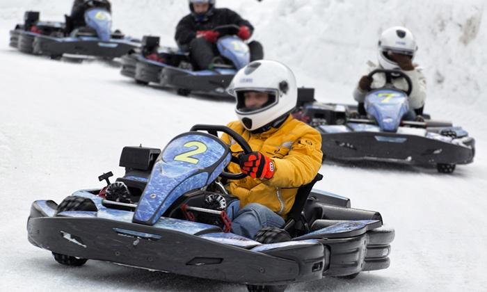 Ice Rosa Ring - ICE ROSA RING: Esperienza di guida su kart e auto da rally su circuito ghiacciato (sconto fino a 80%)