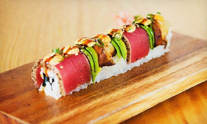 SushiBar - Multiple Locations: Sushi and Pan-Asian Lunch Cuisine at SushiBar (Half Off). Two Options Available.