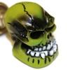 Green Skull Cigarette Lighter