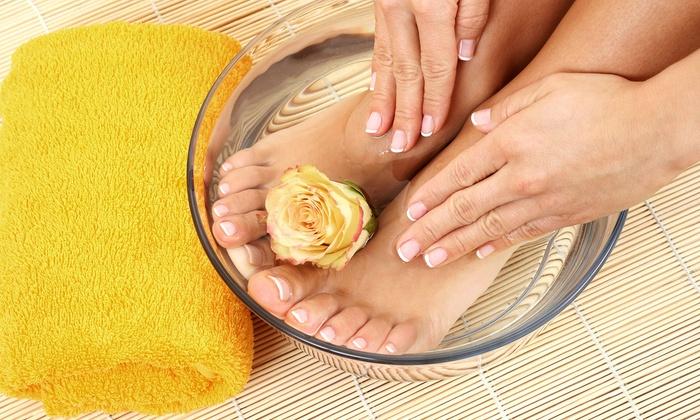 Salon La De Da - Middletown: Regular Mani-Pedi, or Regular Manicure and Spa Pedicure at Salon La De Da (Up to 60% Off)