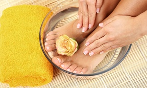 Salon La De Da: Regular Mani-Pedi, or Regular Manicure and Spa Pedicure at Salon La De Da (Up to 60% Off)