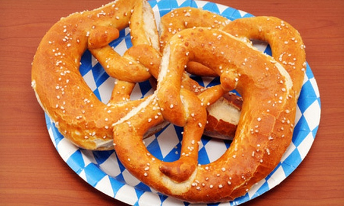 Go Pretzel - Downtown: $7 for $15 Worth of Pretzels and Dips at Go Pretzel
