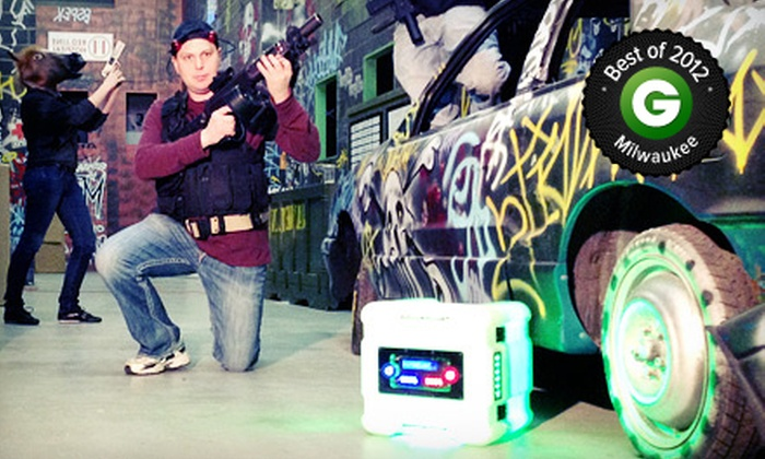CMP Tactical Lazer Tag - Mitchell West: 1.5 or 3 Hours of Laser Tag at CMP Tactical Lazer Tag (Up to 60% Off)