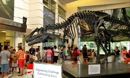 Museum-Visit Package for Two or Four at Virginia Museum of Natural History (50% Off)