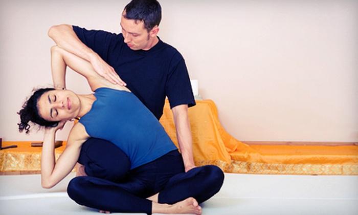 Lee La Wa Dee Thai Classic Massage - Downtown: 65-Minute Classic Thai Massage or Reflexology-Thai Foot Massage at Lee La Wa Dee Thai Classic Massage (Up to 51% Off)
