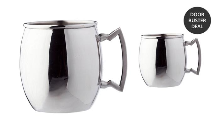 16 Oz. Stainless Steel Moscow Mule Mug 2-Pack: 16 Oz. Stainless Steel Moscow Mule Mug 2-Pack. Free Returns.