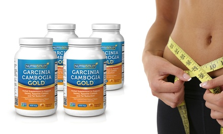 Buy 2 Get 2 Free: Garcinia Cambogia Gold Weight-Loss Supplements; 90 or 360 Capsules