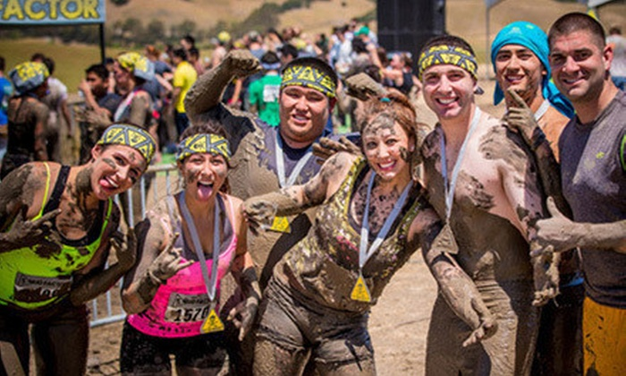 Mud Factor - Rancho Cordova: $29 for the Mud Factor 5K Obstacle-Course Run on Saturday, October 6, at the Sacramento Raceway ($65 Value)