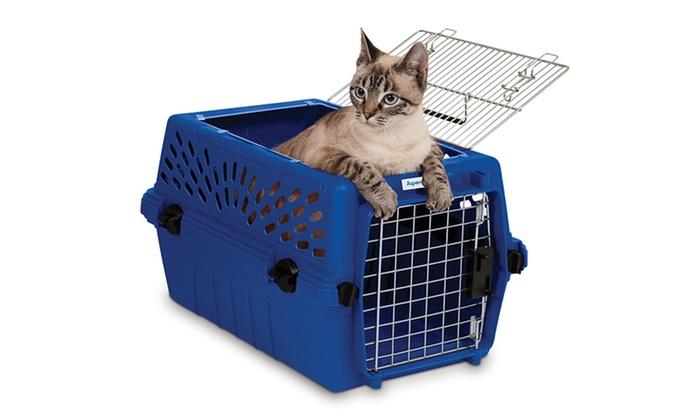 2-Door Deluxe Pet Carrier for Pets Up to 15lb.  sc 1 st  Groupon & 2-Door Deluxe Pet Carrier | Groupon Goods