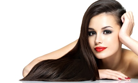 Haircut and Style or Smoothing Treatment at Tre Spa (Up to 42% Off)