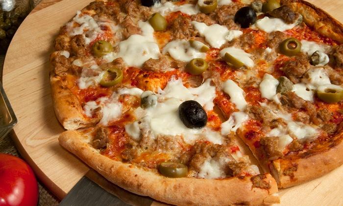 Sorriso - Città Sant'angelo (PE): Menu d'asporto con pizza a scelta, arancina e bibita da 9,90 €