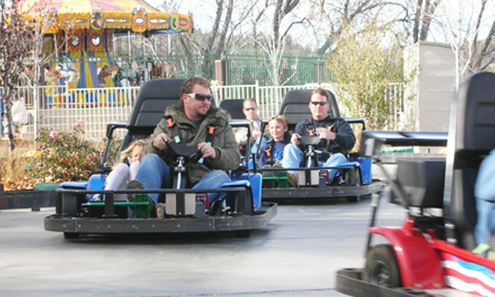 Lollipop Park - Lake Arrowhead: Go-Karts, Bumper Cars, or Kiddie Rides at Lollipop Park (50% Off). Two Options Available.