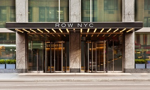 4-Star Posh Hotel Steps from Times Square