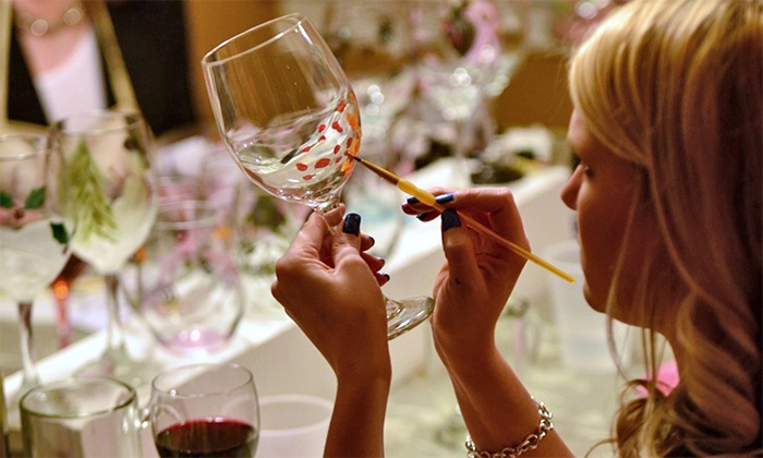 Drinkable Arts: Paint-and-Sip Event for One or Two from Drinkable Arts (35% Off)