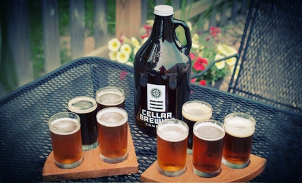 Craft-Beer Package for Two or Four at Cellar Brewing Company (Up to 53% Off)