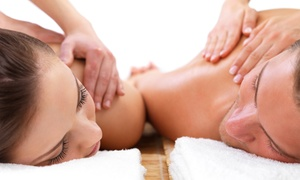 Intermission Spa: 60- or 120-Minute Couples Massage Package at Intermission Spa (Up to 62% Off)