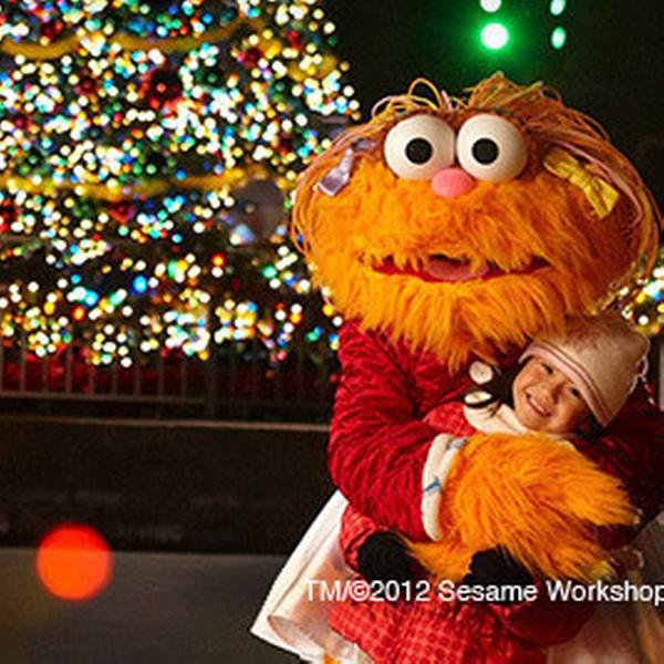 Sesame Street Theme-Park Visit - Sesame