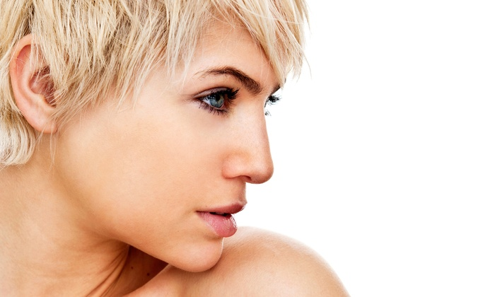 Mozzie Fox Salon - Mesa: Haircut Package with Style, Glaze, Single-Process Color, or Partial Highlights at Mozzie Fox Salon (Up to 53% Off)