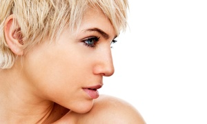 Mozzie Fox Salon: Haircut Package with Style, Glaze, Single-Process Color, or Partial Highlights at Mozzie Fox Salon (Up to 53% Off)