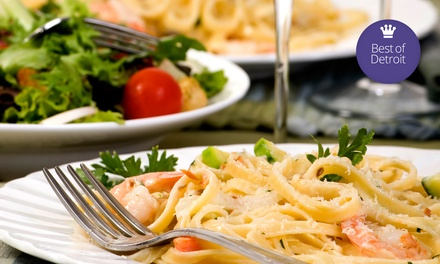 Italian and American Food for Lunch or Dinner at Station 885 (Up to 53% Off)