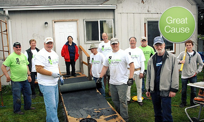 Rebuilding Together South Sound - Tacoma Junction,Lower Portland Avenue: If 50 People Donate $10, Then Rebuilding Together South Sound Can Install a Handicap-Accessible Ramp at One Local Home