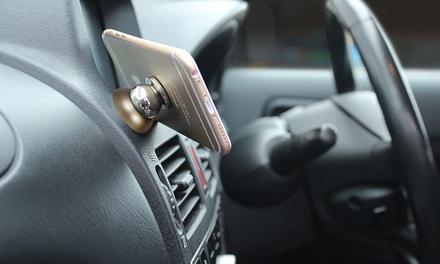 1 o 2 soportes universales magnéticos de smartphones para coche