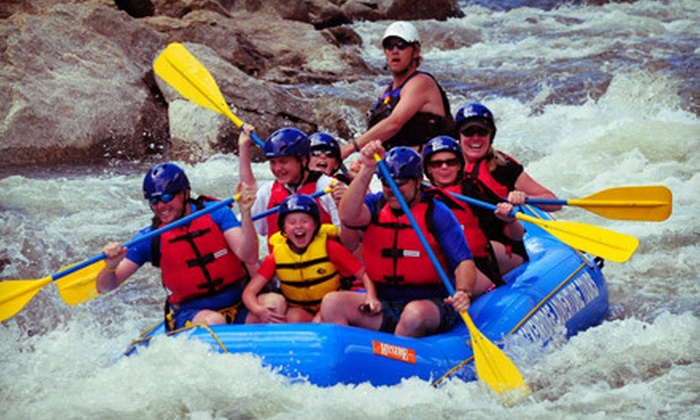 Breckenridge Adventure Tours - Breckenridge: Guided Half-Day Rafting Trip on Monday through Friday for One, Two, or Six from Breckenridge Adventure Tours (Up to 53% Off)