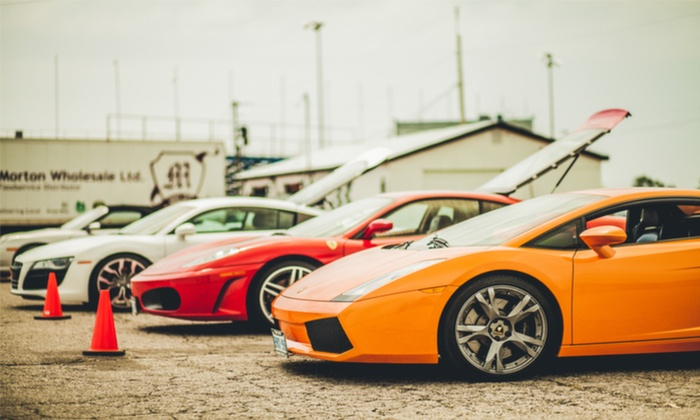 Ultimate Exotics - Stoney Creek Industrial: Porsche, Audi, Ferrari, Nissan, Shelby, or Lamborghini Driving Experience from Ultimate Exotics (Up to 54% Off)