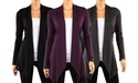 3-Pack Hacci Women's Draped Cardigans in Assorted Colors Deals