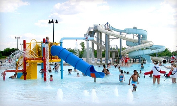 Joliet Park District - Joliet: Two Adult or Two Children's Visits to Splash Station Waterpark in Joliet (Up to 62% Off)