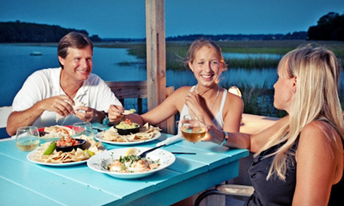 Bonna Bella Waterfront Grille - Savannah: $15 for $30 Worth of American Cuisine at Bonna Bella Waterfront Grille