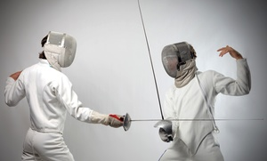 Fencing Club of Mercer County: Three One-Hour Intro to Saber Fencing Classes for One or Two at Fencing Club of Mercer County (Up to 61% Off)