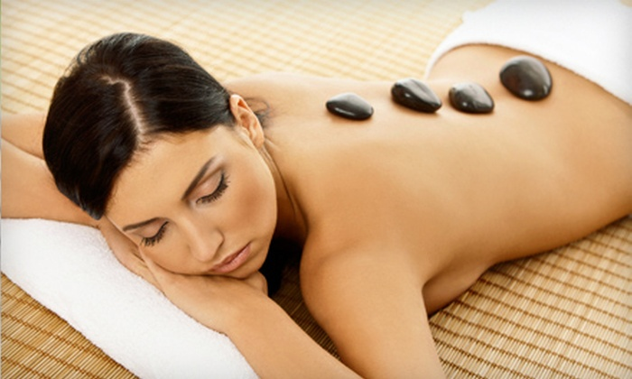 Panda Paw Day Spa - Village Seven: 60-Minute Hot-Stone or 90-Minute Custom Massage at Panda Paw Day Spa (Up to 53% Off)