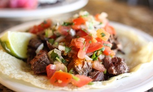 The MexZican Gourmet: Mexican Cuisine at The MexZican Gourmet (Up to 45% Off). Three Options Available.