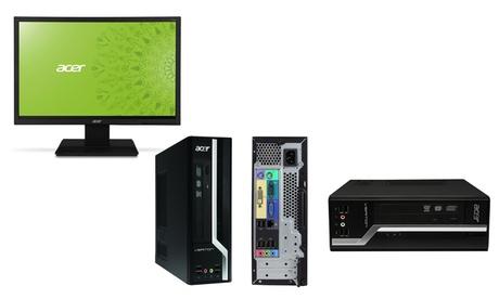 Ordenador de sobremesa Acer Veriton X2611G con opción a monitor de 19' (envío gratuito)