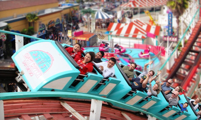 Belmont Park  - Mission Beach: $12 for One Day of Unlimited Rides at Belmont Park (Up to $26.95 Value)