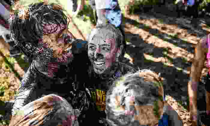 Eat Dirt Mud Run - Gaines: $45 for Entry for One Adult to Eat Dirt Mud Run One-Lap 5K on Saturday, August 23 (Up to $75 Value)