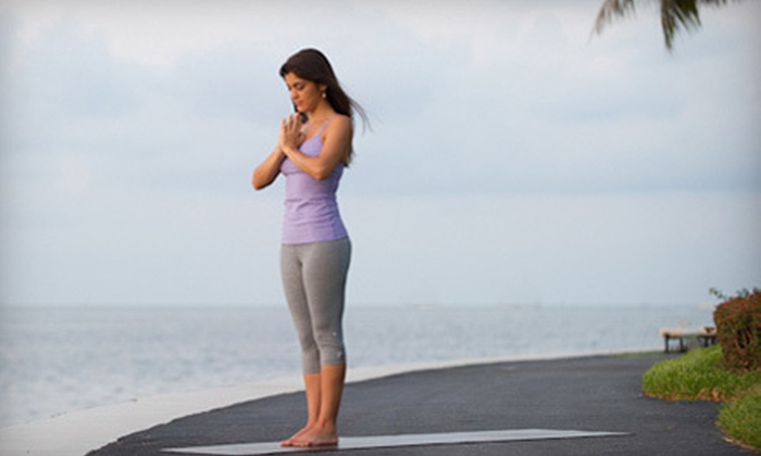 Rina Yoga - Multiple Locations: 10 or 20 Classes at Rina Yoga (Up to 80% Off)