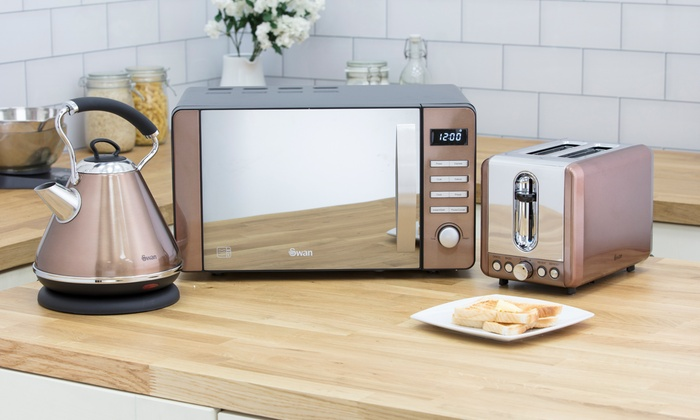 Rose Gold Kitchen Appliances