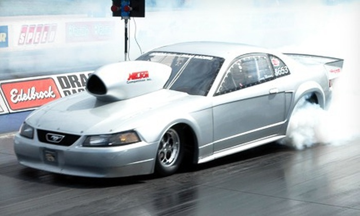 Year One Fast Friday Legal Street Racing Event  - Mulberry Park: Street-Racing Event for Two or Four with Suite Option at Atlanta Dragway in Commerce (Up to 65% Off)