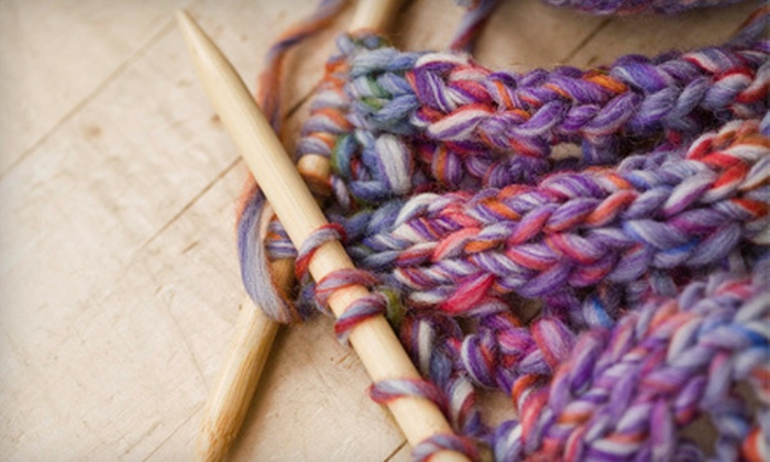 Nomad Yarns - Plainfield: Three-Hour Crochet, Knitting, Spindle Spinning, or Felt Wall-Hanging Class for One or Two at Nomad Yarns (Up to 62% Off)