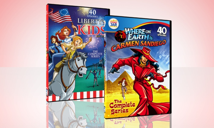 Liberty's Kids and Where on Earth Is Carmen Sandiego DVD Sets: Liberty's Kids and Where on Earth Is Carmen Sandiego Complete Series on DVD. Free Returns.