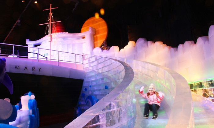 The Queen Mary's CHILL - Long Beach, CA: $20 for Entry to The Ice Kingdom at CHILL and a Visit to The Queen Mary ($40.90 Value). Nine Dates Available.