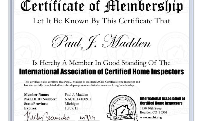Paul Madden Home Inspections - Detroit: $129 for $300 Worth of Structural Inspection — Paul Madden Home Inspections