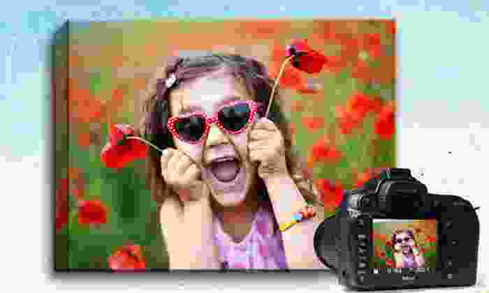 """Picture it on Canvas **NAT**: $26.99 for a 16""""x20"""" Custom Photo Canvas from Picture It On Canvas ($110 Value)"""