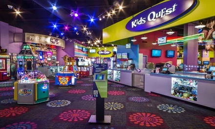 $20 for Five Groupons, Each Good for One Hour of Kids' Supervised Play at Kids Quest ($45 Value)