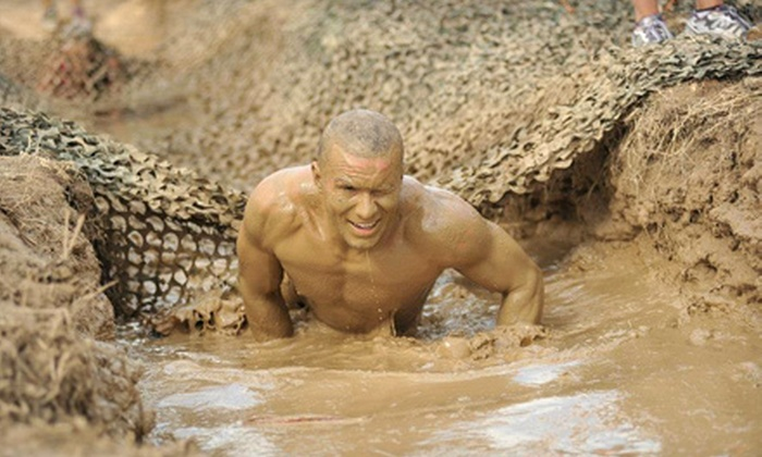 Mighty Mud Dash - Sam Houston Race Park: $40 for Entry in the Mighty Mud Dash on Sunday, November 24 (Up to $80 Value)